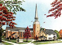 Albion College Goodrich Chapel
