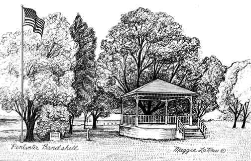Pentwater bandshell